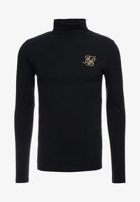 SIKSILK - ROLL NECK LONG SLEEVE - Camiseta de manga larga - black - 3