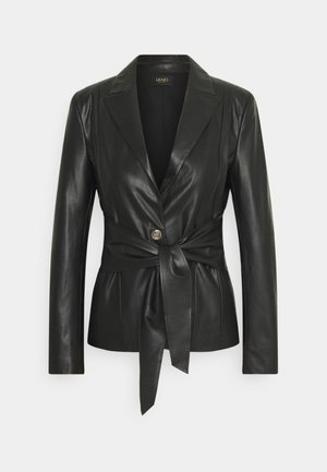 GIACCA - Faux leather jacket - nero