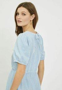 Vila - Day dress - cashmere blue - 4