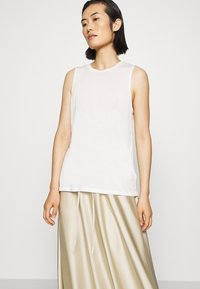 ARKET - MAXI SKIRT - A-lijn rok - beige dusty light - 5