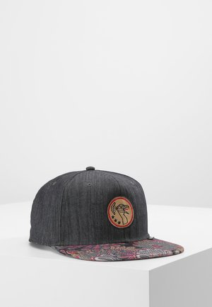 PEACOCK  - Cap - black