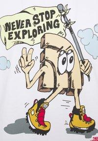 The North Face - GRAPHIC  - Camiseta de manga larga - white - 4