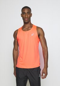 ASICS - SINGLET - Sports shirt - flash coral - 0
