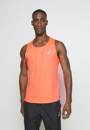 SINGLET - Sports shirt - flash coral