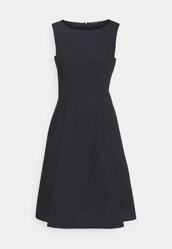 DRESS FITTED MIDI LENGHT FULL - Day dress - dark blue