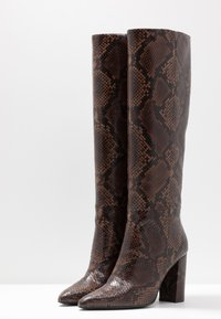 Bruno Premi - High heeled boots - teak - 4