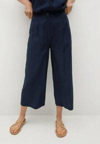 Mango - BYE - Trousers - azul marino oscuro - 0