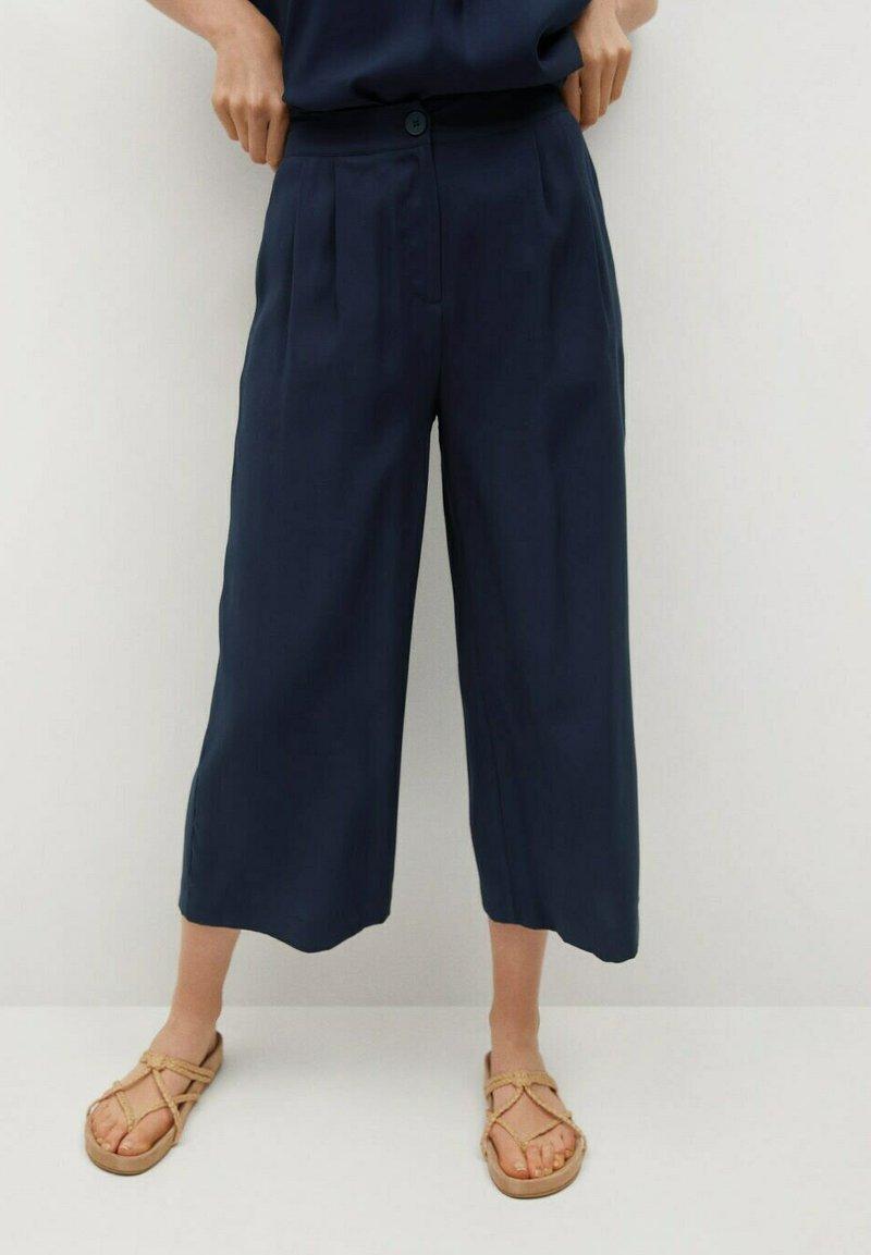 Mango - BYE - Trousers - azul marino oscuro