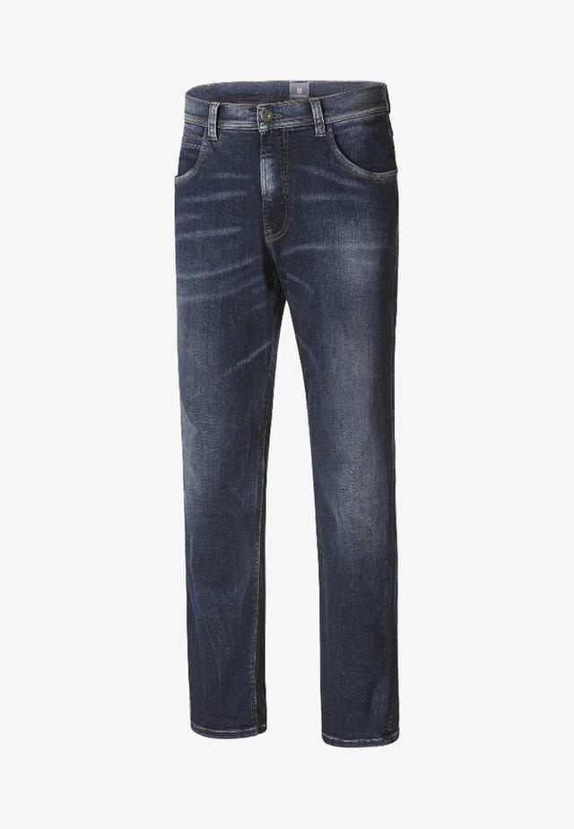 WICKI - Straight leg jeans - dunkelblau