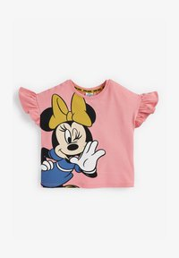 Next - DISNEY MINNIE MOUSE  - Print T-shirt - pink - 0