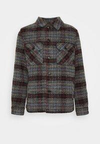 OVERSHIRT CHECK - Light jacket - blue/grey