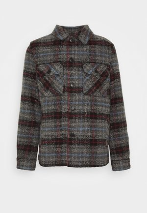 OVERSHIRT CHECK - Light jacket - blue/grey