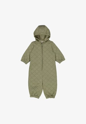 HARLEY - Snowsuit - green melange