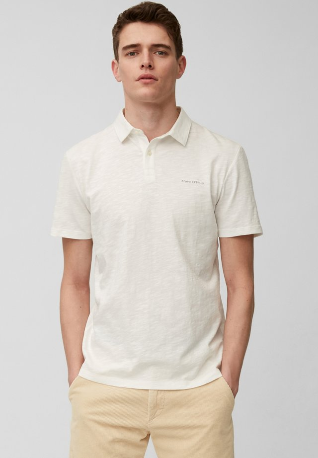 Polo shirt - egg white