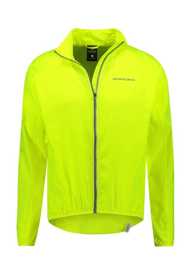 "ENDURA HERREN WINDJACKE ""PAKAJAK"" - Training jacket - light yellow"