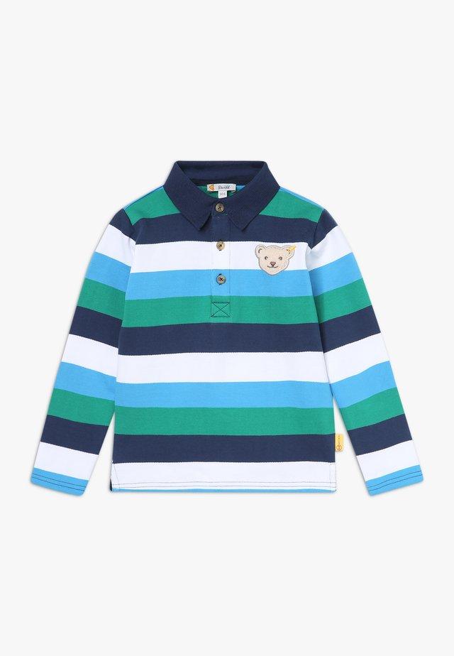 Koszulka polo - blue/green