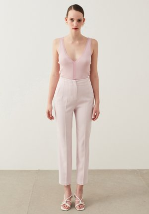 Trousers - light pink