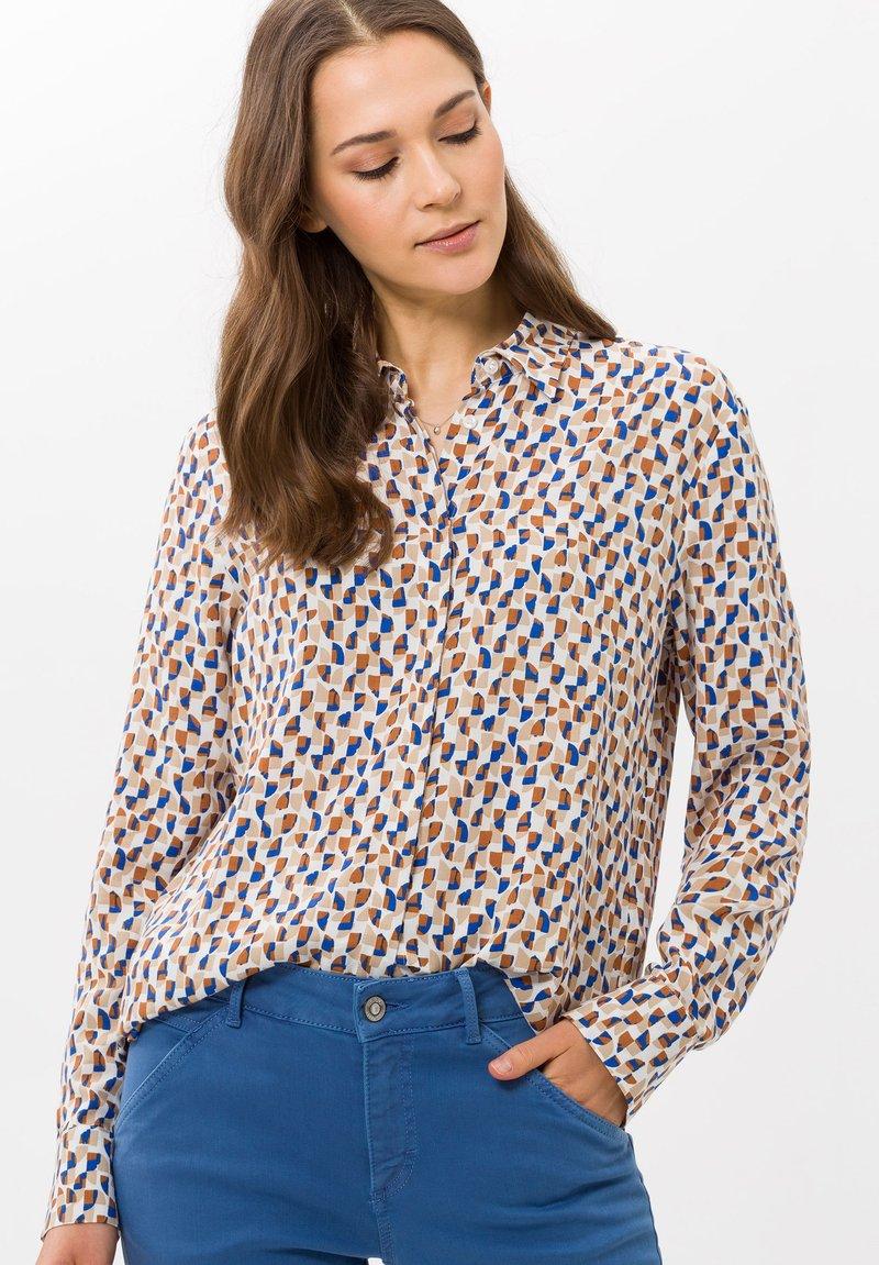BRAX - VICTORIA - Button-down blouse - blue