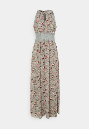 VIMILINA FLOWER DRESS - Occasion wear - green milieu/red/pink