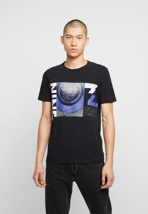 JCOROUTER TEE CREW NECK - T-shirt med print - black
