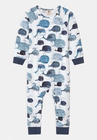 Walkiddy - BABY WHALES UNISEX - Pyjamas - white - 0
