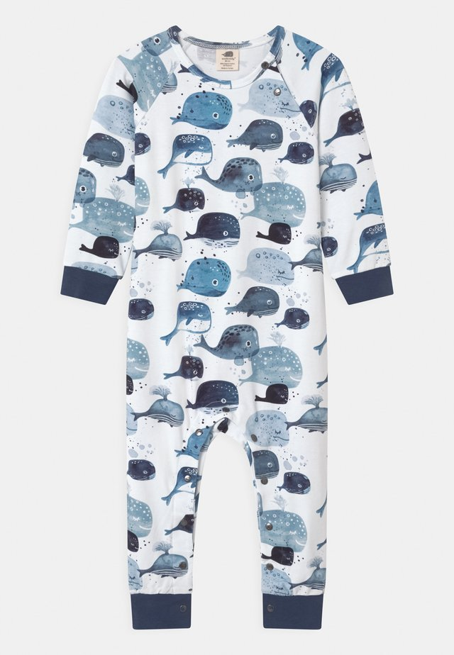 BABY WHALES UNISEX - Pyjama - white