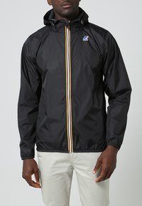K-Way - LE VRAI CLAUDE UNISEX - Waterproof jacket - black - 1