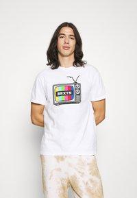 Brixton - SERVICE - Print T-shirt - white - 0