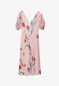 Uterqüe - Robe longue - pink - 5