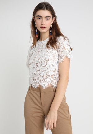 BOXY - Blouse - white
