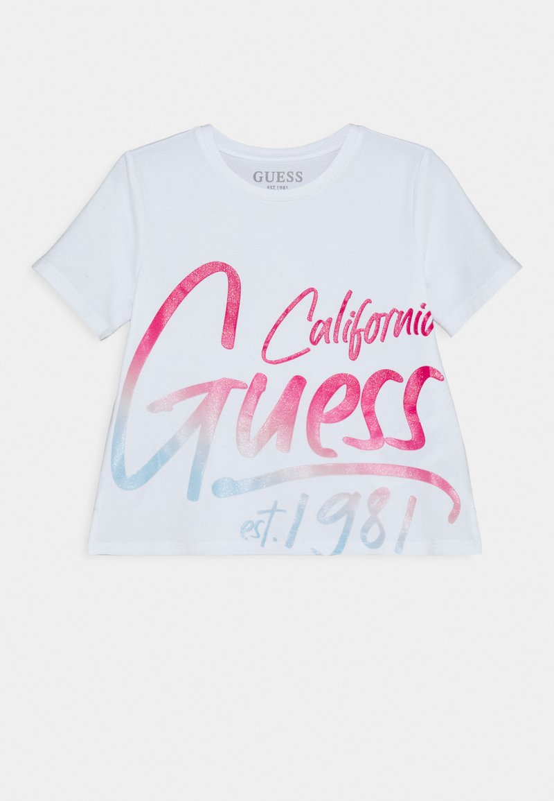 Guess - JUNIOR - Print T-shirt - true white