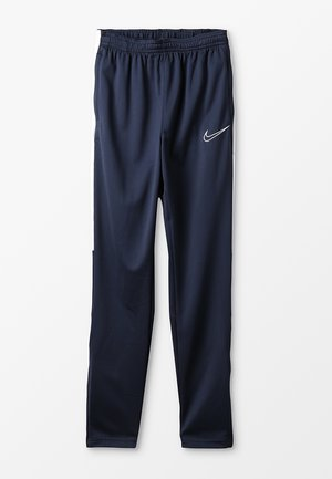 DRY - Tracksuit bottoms - obsidian/white