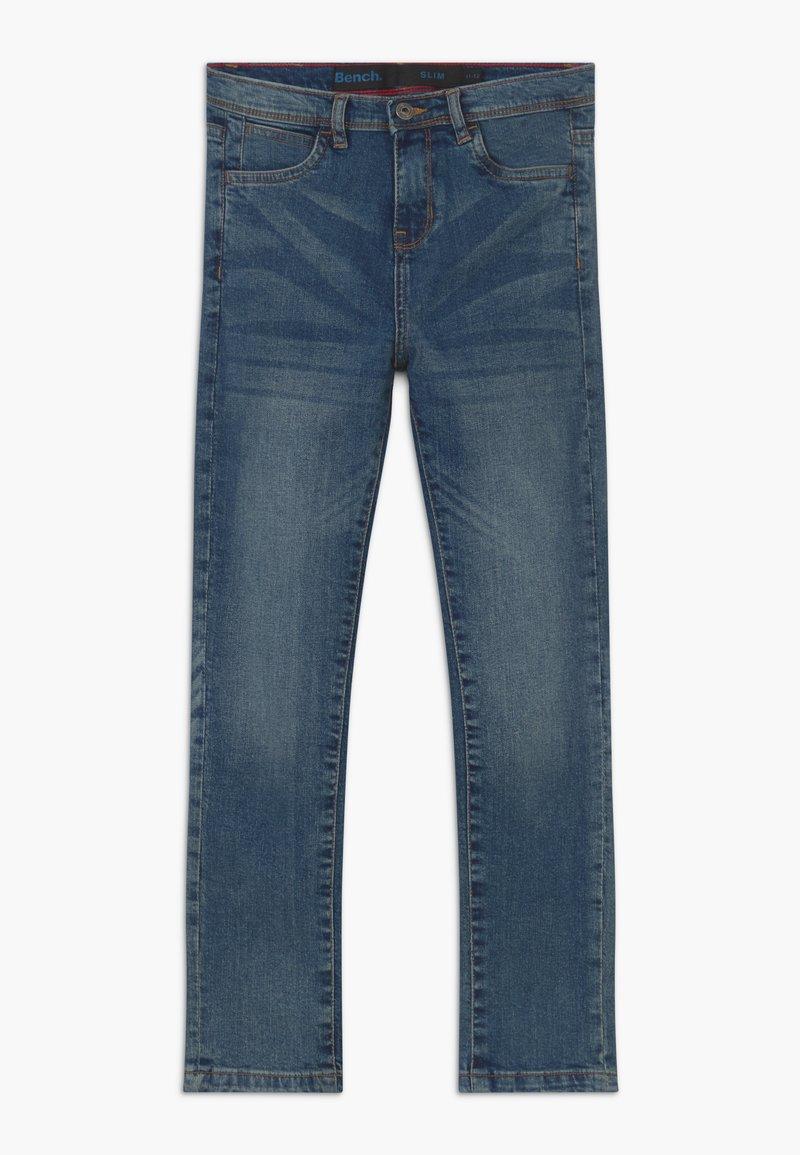 Bench - BRADWELL - Vaqueros slim fit - blue denim