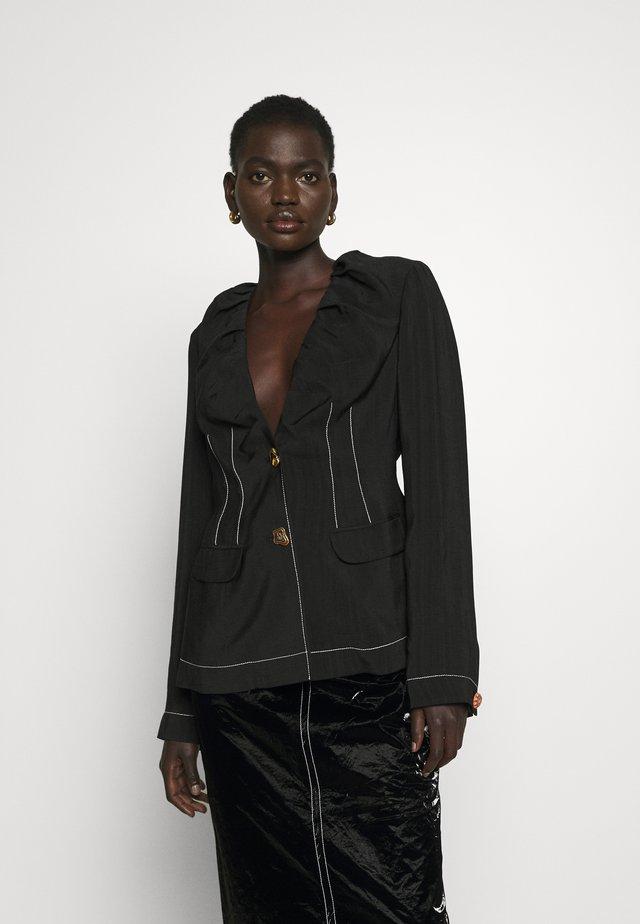 DANA JACKET - Blazer - viscose black