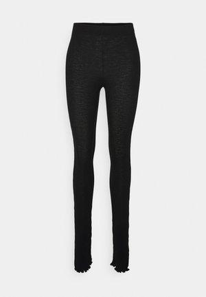 PANTALONE - Leggings - Trousers - black