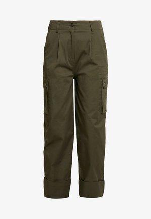 CARA - Trousers - hunter green
