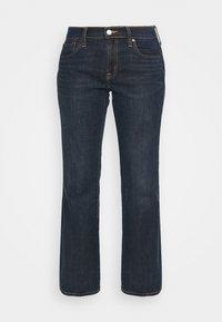 GAP - V BOOT PEARL - Bootcut jeans - dark rinse - 5