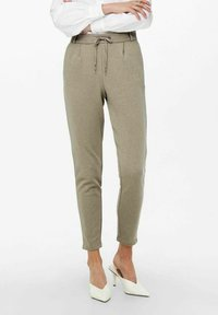 ONLY - LOOSE FIT - Tracksuit bottoms - walnut - 0
