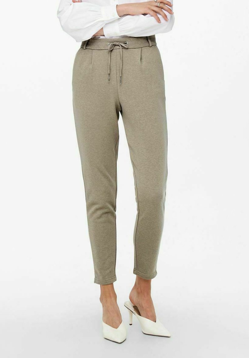 ONLY - LOOSE FIT - Tracksuit bottoms - walnut