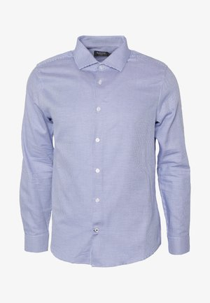 COLOUR DOBBY - Shirt - blue