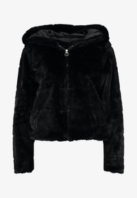 ONLY - ONLCHRIS HOODED JACKET - Vinterjakke - black - 4
