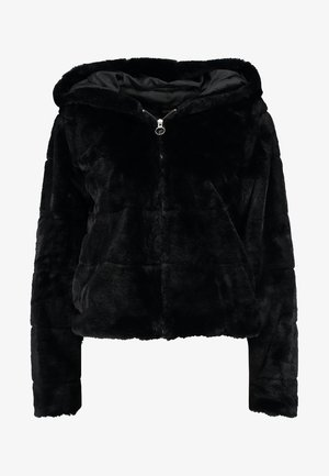 ONLCHRIS HOODED JACKET - Zimní bunda - black