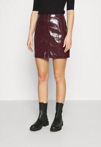 Glamorous - SKIRT - A-line skirt - burgundy - 0