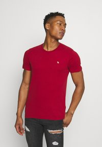 Abercrombie & Fitch - ICON CREW 5 PACK - T-shirt print - red - 6