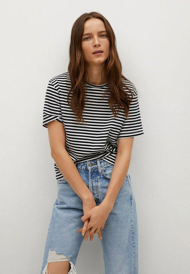 ANITA-I - T-shirt print - marineblauw