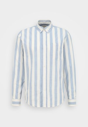 ADAM WIDE STRIPE REGULAR FIT - Skjorte - white/blue