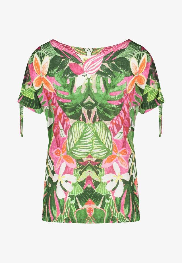 T-shirt imprimé - violet/pink/green