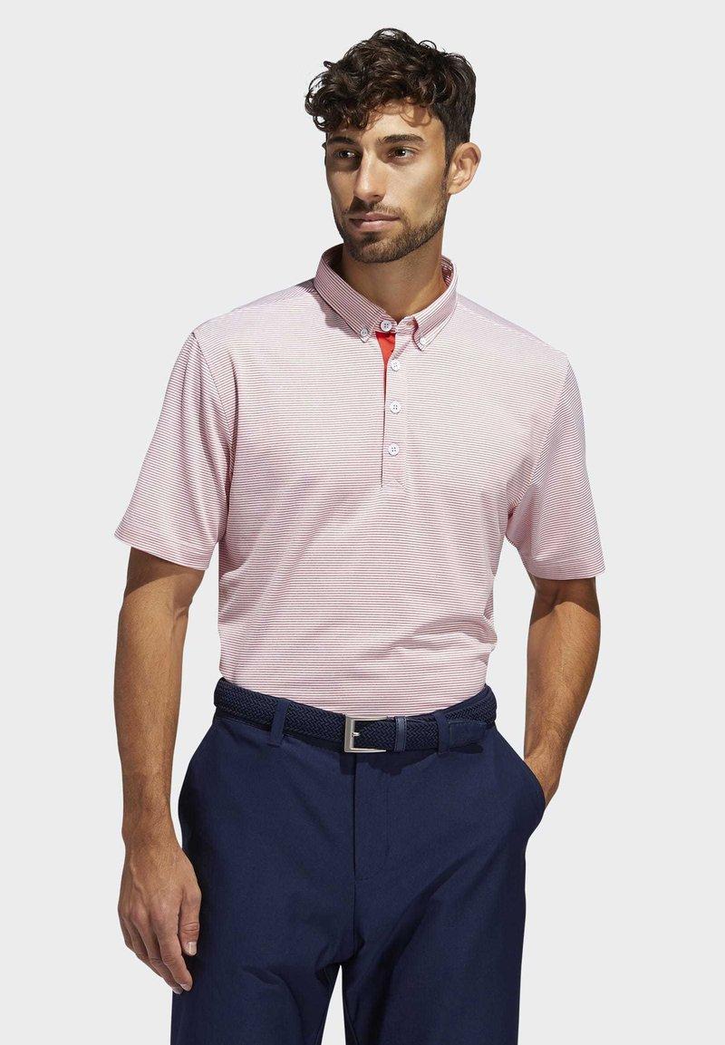 adidas Golf - ADIPURE OTTOMAN POLO SHIRT - Funktionsshirt - red
