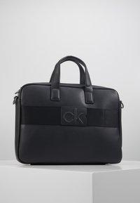 Calvin Klein - CENTRAL LAPTOP BAG - Briefcase - black - 3