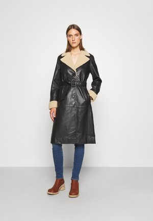 RAZKIELLE - Leather jacket - black
